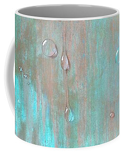 Water On Copper Coffee Mug