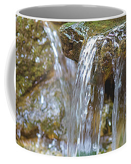 Coffee Mug featuring the photograph Water On The Rocks by Raphael Lopez