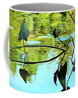 Water Plants Coffee Mug by Debbie Oppermann