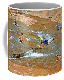 Water Play 3 Coffee Mug
