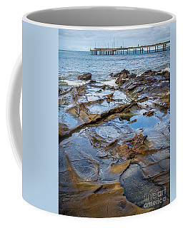 Coffee Mug featuring the photograph Water Pool by Perry Webster