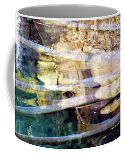 Coffee Mug featuring the photograph Water Reflections by Francesca Mackenney