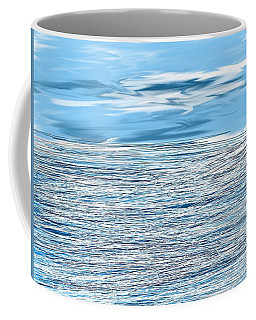 Water Scribbles Coffee Mug