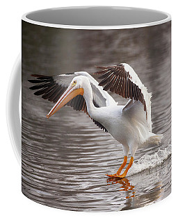 Coffee Mug featuring the photograph Water Skiing by Jerry Cowart