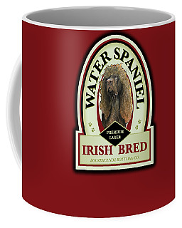 Water Spaniel Irish Bred Premium Lager Coffee Mug
