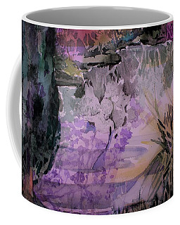 Coffee Mug featuring the painting Water Sprite by Mindy Newman