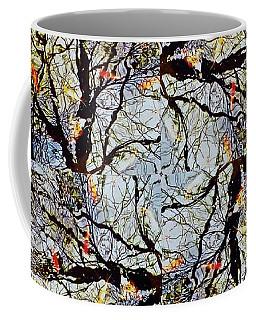 Water Surface Matrix Coffee Mug