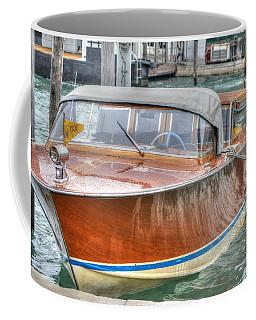 Water Taxi Italy Coffee Mug