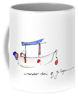 Water Taxi Of Yelapa Coffee Mug
