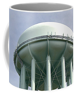 Water Tower Coffee Mug by  Newwwman