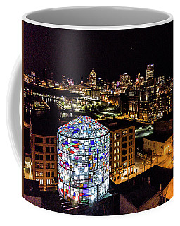 Water Tower Skyline Coffee Mug