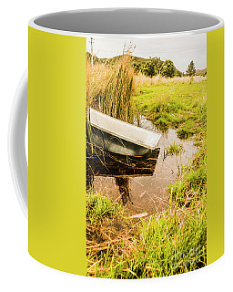 Water Troughs And Outback Farmland Coffee Mug