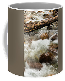 Coffee Mug featuring the photograph Water Under The Bridge by Alex Lapidus