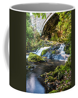 Coffee Mug featuring the photograph Water Under The Bridge by Nick Bywater