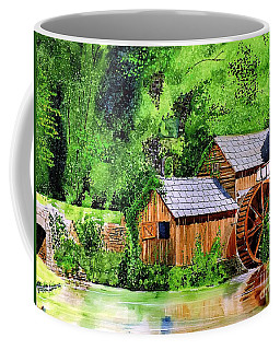 Water Wheel Coffee Mug