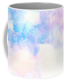 Watercolor Background Coffee Mug by Serena King