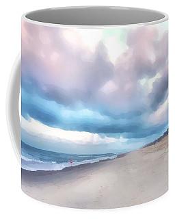 Watercolor Beach Coffee Mug