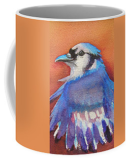 Watercolor Blue Jay Coffee Mug