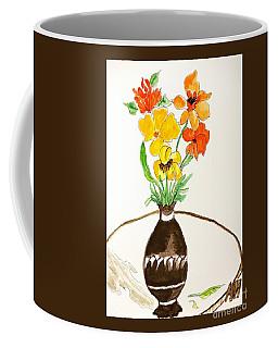 Watercolor Fall Bouquet Coffee Mug