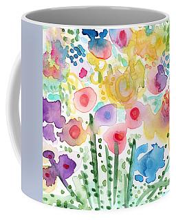Watercolor Flower Garden- Art By Linda Woods Coffee Mug