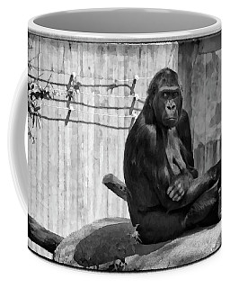 Watercolor Gorilla Coffee Mug