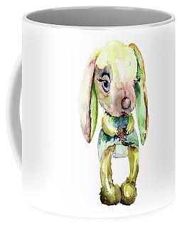 Watercolor Illustration Of Rabbit Coffee Mug