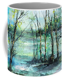 Watercolor Morning Coffee Mug