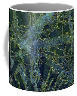 Edition 1 Watercolor Moss Coffee Mug