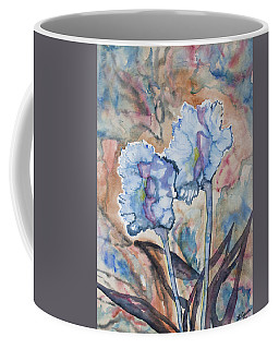 Coffee Mug featuring the painting Watercolor - Orchid Impression by Cascade Colors