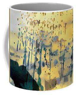 Watercolor Rain Coffee Mug