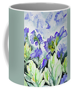 Watercolor - Rocky Mountain Wildflowers Coffee Mug