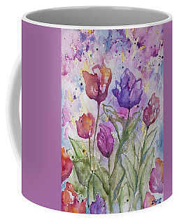 Watercolor - Spring Flowers Coffee Mug