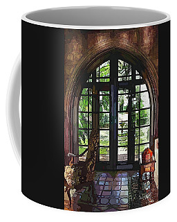 Watercolor View To The Past Coffee Mug