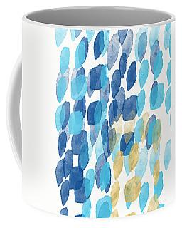 Waterfall- Abstract Art By Linda Woods Coffee Mug