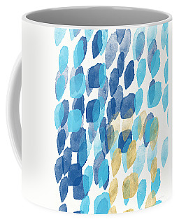 Waterfall- Abstract Art By Linda Woods Coffee Mug