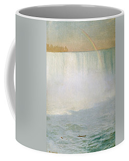 Waterfall And Rainbow At Niagara Falls Coffee Mug
