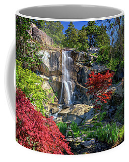 Waterfall At Maymont Coffee Mug by Rick Berk