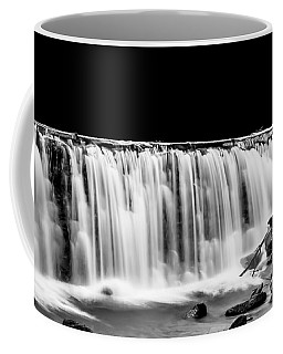 Waterfall At Night Coffee Mug