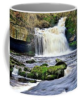 Waterfall At West Burton, Yorkshire Dales Coffee Mug