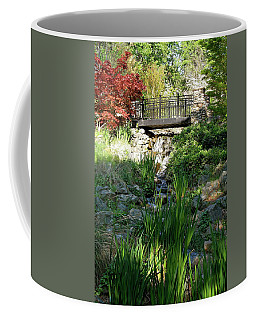 Coffee Mug featuring the photograph Waterfall Bridge by Michele Myers