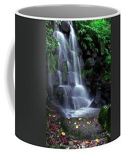 Waterfall Coffee Mug by Carlos Caetano