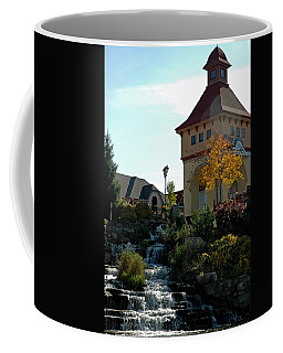 Coffee Mug featuring the photograph Waterfall Frankenmuth Mich by LeeAnn McLaneGoetz McLaneGoetzStudioLLCcom