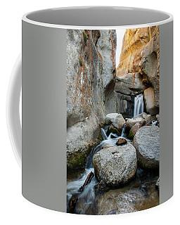 Waterfall In The Buttermilks Coffee Mug