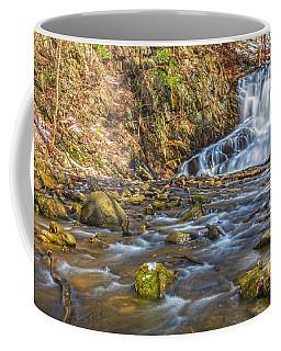 Waterfall Of April Snow Coffee Mug