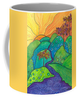 Waterfall Of Hope Coffee Mug