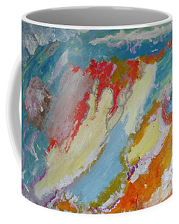 Waterfall On The Unknown Planet Coffee Mug