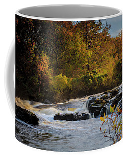 Waterfall River Sinzort Isle Of Skye Coffee Mug by Alex Saunders
