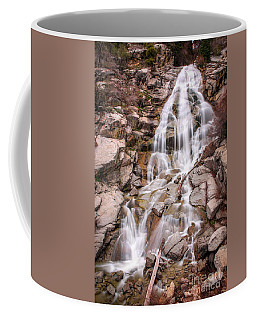 Coffee Mug featuring the photograph Horsetail Falls by Spencer Baugh