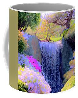 Waterfall Spring Colors Coffee Mug