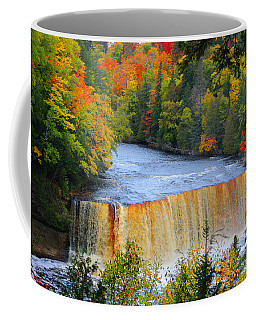 Waterfalls Of Michigan Coffee Mug
